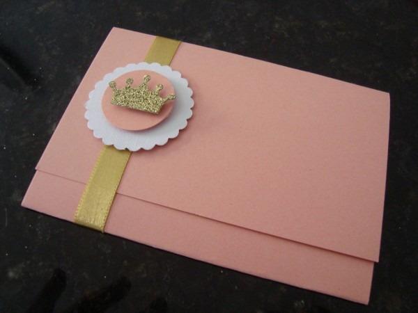 Convite personalizado princess no elo7