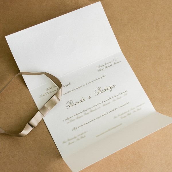 Modelo de convite simples