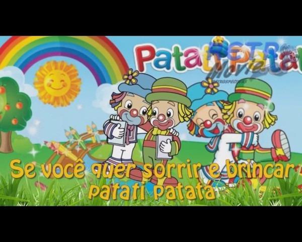 Convite virtual animado patati patatá ver vídeo
