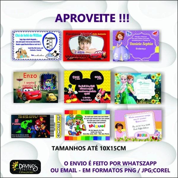 Convite virtual online com foto