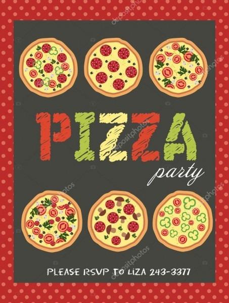Festa da pizza — vetores de stock © miobuono12  65595929