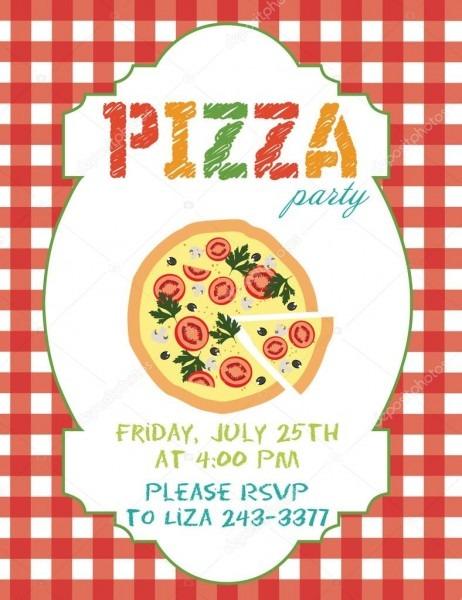 Festa da pizza — vetores de stock © miobuono12  65595969