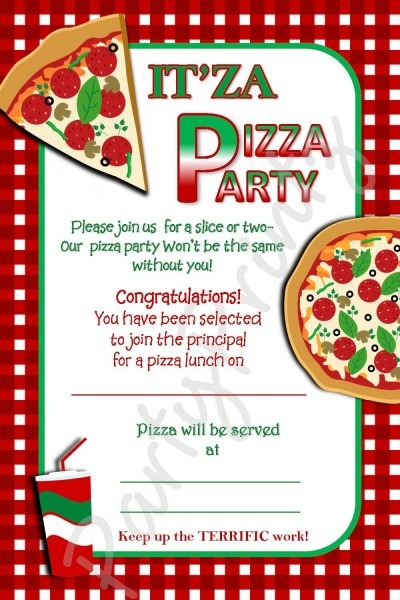 Pizza party invitation template free – invitationlayout com