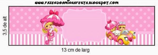 Penelope glamour bebé  etiquetas para candy bar para imprimir