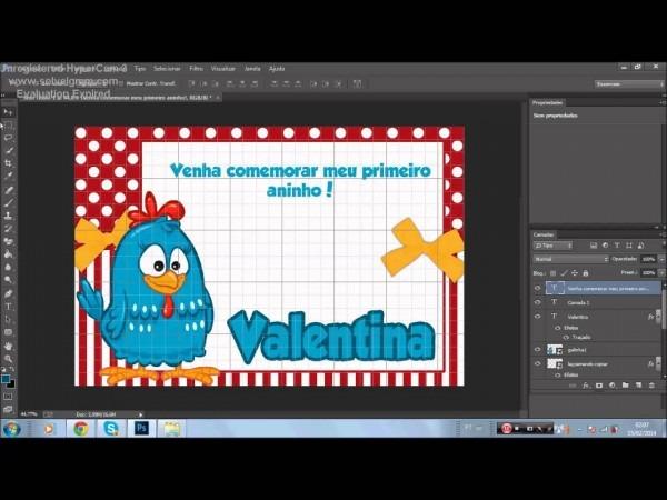 Criando rótulos para lembrancinhas e convites no photoshop! básico