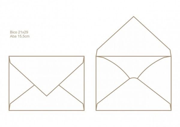 Envelopes para convite  art invitte 11 5031 6383