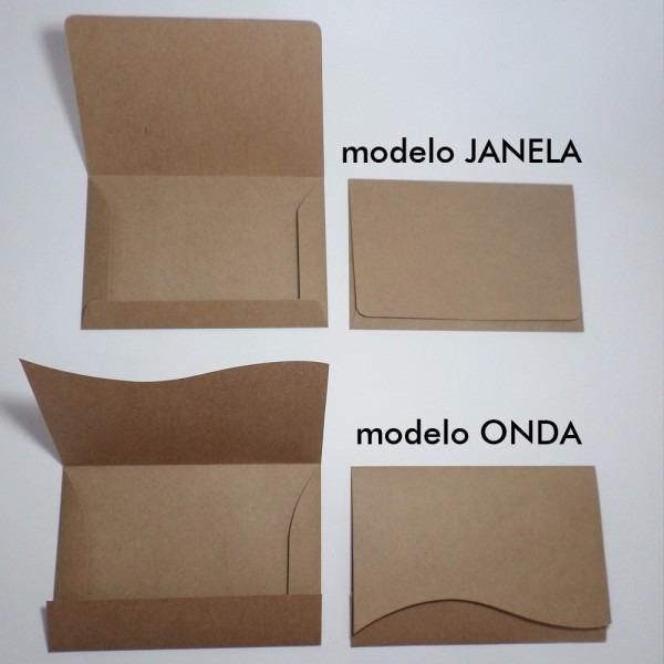 100 envelopes para convite 13x18cm papel kraft rustico