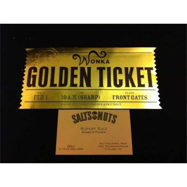 Wonka bar golden ticket ebay factory golden wonka bar