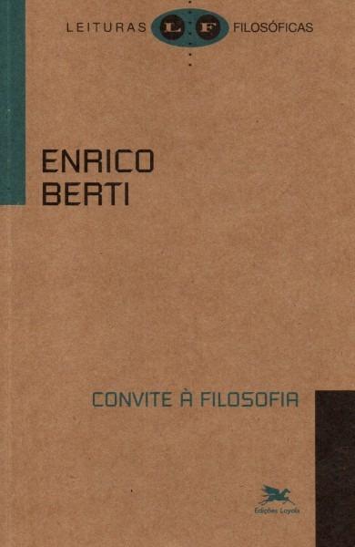 Thauma filosófico  livro  convite À filosofia de enrico berti