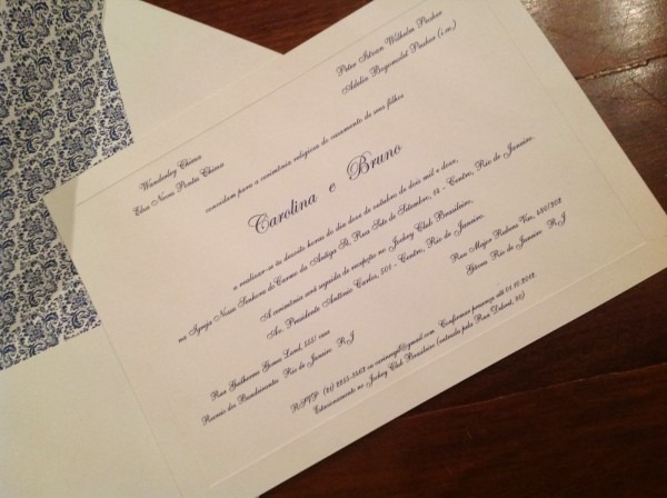 Felice convites de casamento  convite estilo inglês
