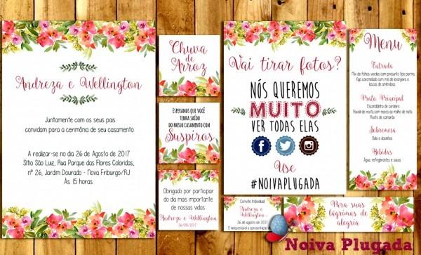 Imagens convite de casamento psd download mariana convites