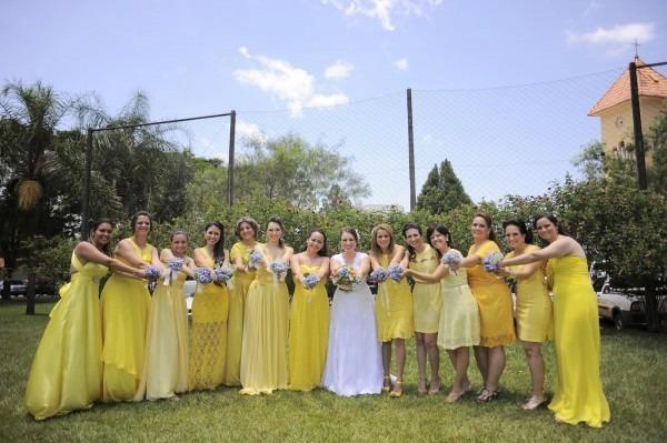 Madrinhas vestido amarelo casamento londrina (4)