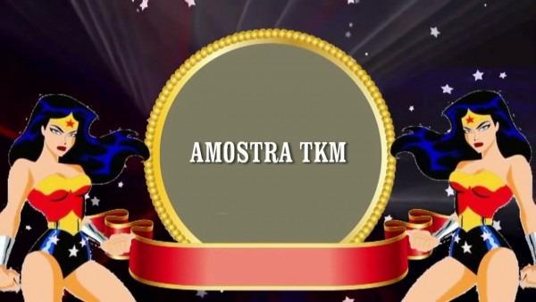 Convite animado mulher maravilha tkm convites animados