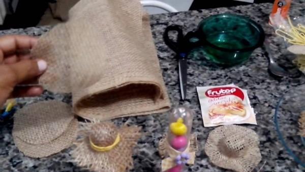 Pap chapéu caipira  mini