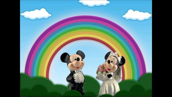 Mickey & minnie done in after effects
