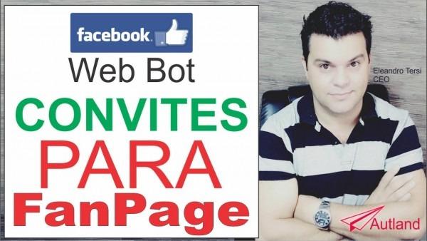 Facebook, script, bot, convidar amigos para curtir sua fanpage