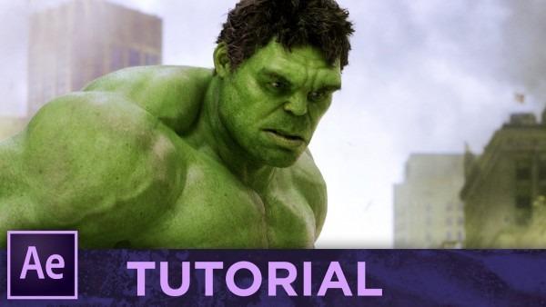 Hulk • after effects tutorial