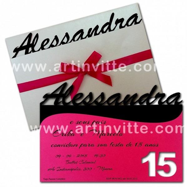 Nico convite de debutante para imprimir convites 15 anos art