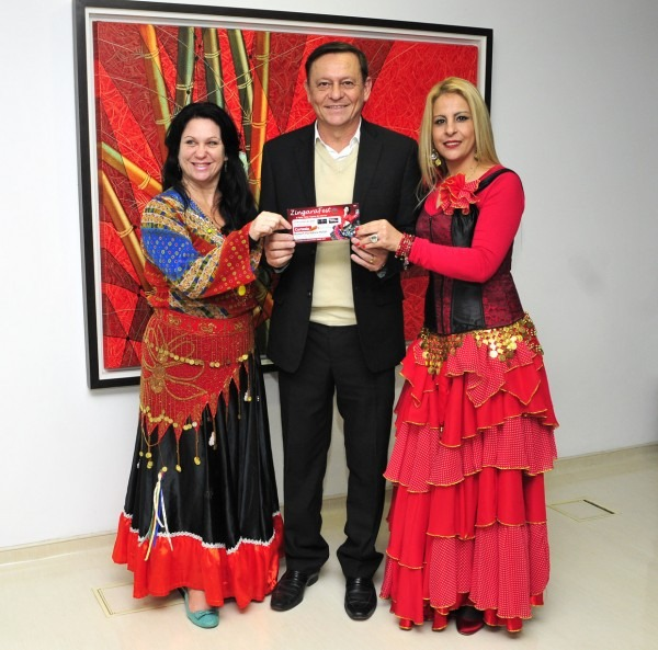 Prefeito recebe convite para evento cigano zíngara fest