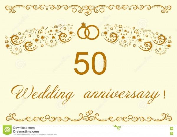 50th convite do aniversário de casamento dourado il bonito