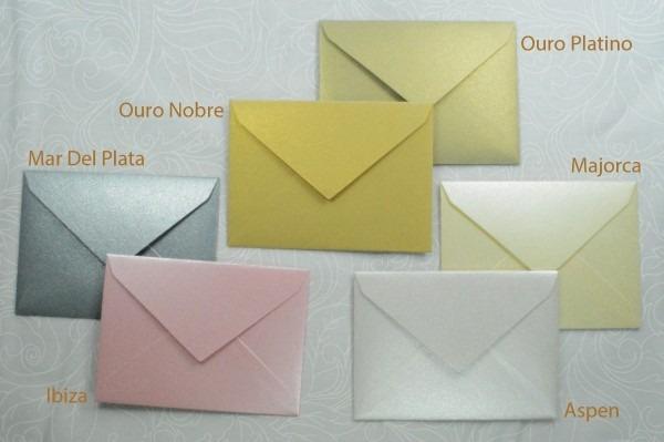 100 mini envelopes perolizado p  convite individual