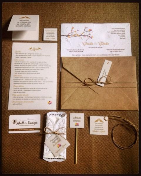 Pin by abelha design convites
