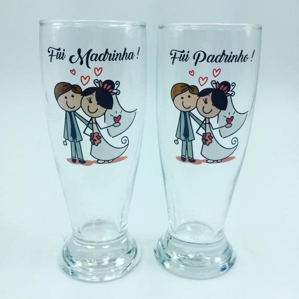 10 copos cerveja convite presente padrinhos casamento