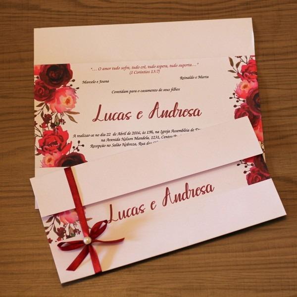 110 convites de casamento marsala flores bonito e diferente