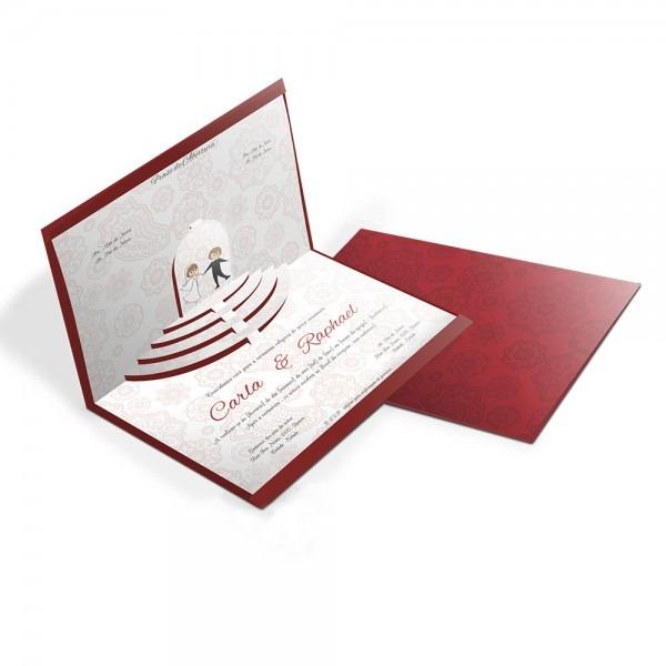 50 convite de casamento especial 04 – 210x310mm – envelope color