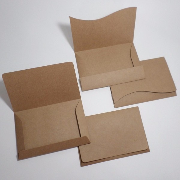 200 envelopes (convite 10x15cm) papel kraft rustico