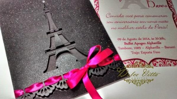 Dolce vitta convites  modelos paris cód  227