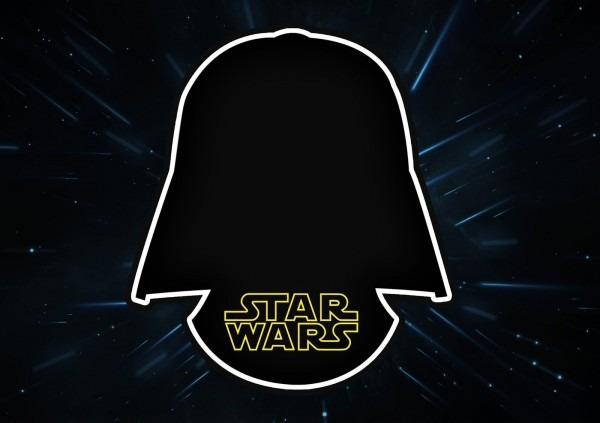 Star wars  invitaciones para imprimir gratis