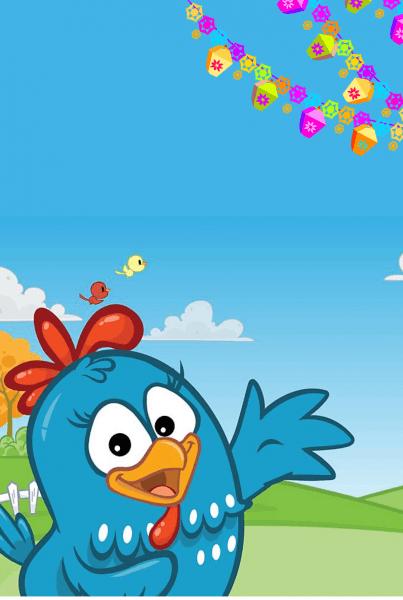 Convite galinha pintadinha download gratis
