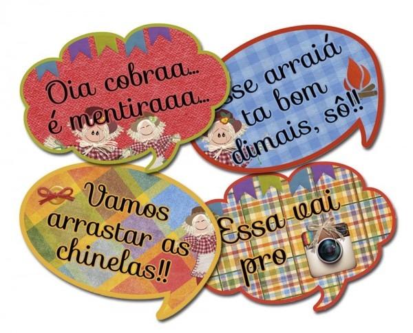 Plaquinhas divertidas para festa juninas e julinas   br pura