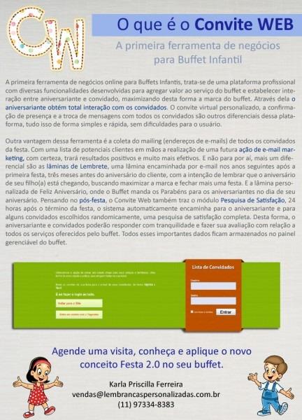 Convite web