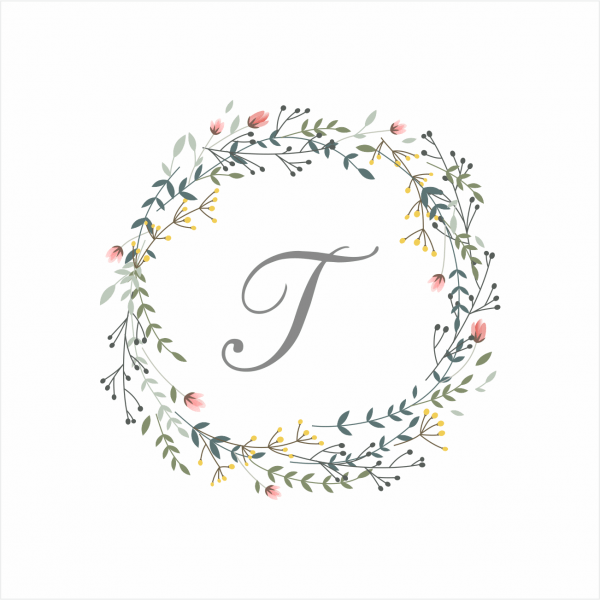 Convite monograma  by pipoca