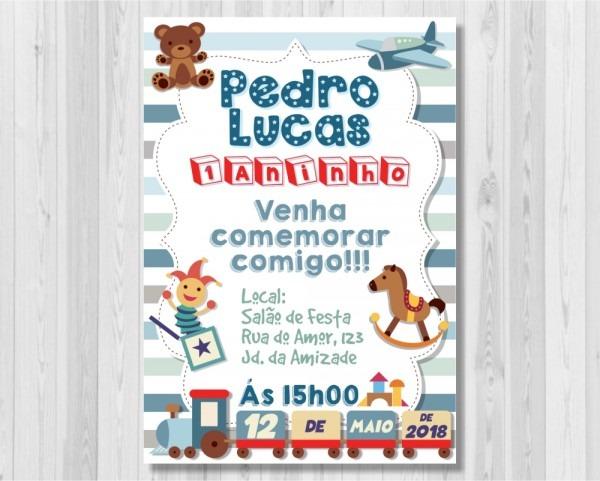 Convite de crianças