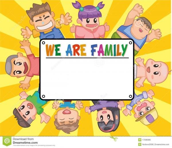 Cartão do convite da criança ilustração do vetor