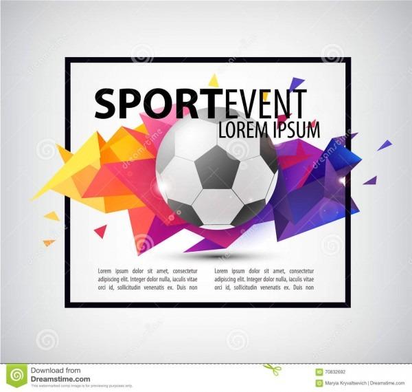 Cartaz abstrato do futebol do futebol, inseto, cartão, convite