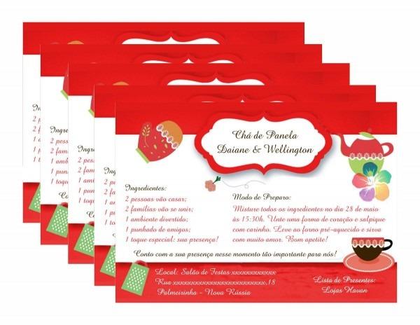 Convite chá de cozinha para editar – cozinha webpage