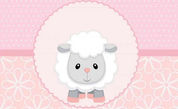 Chá de bebê ovelhinha  decoração, lembrancinhas