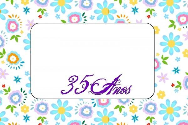 Convite de aniversario 35 anos » happy birthday world