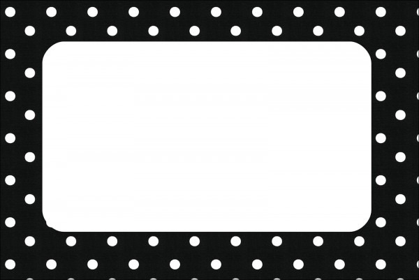Convite de aniversario preto e branco para imprimir 8 » happy