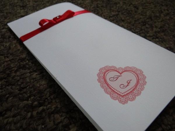 Convite de casamento encontro coração c  capa pct c  10 uni
