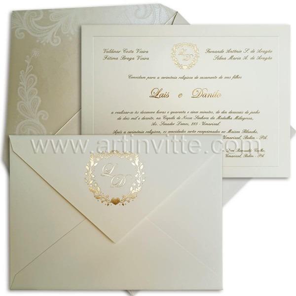 Detalhes para convites de casamento