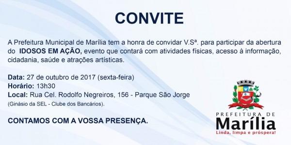 Marília, sp, abre em 27 de outubro, evento de atividade física