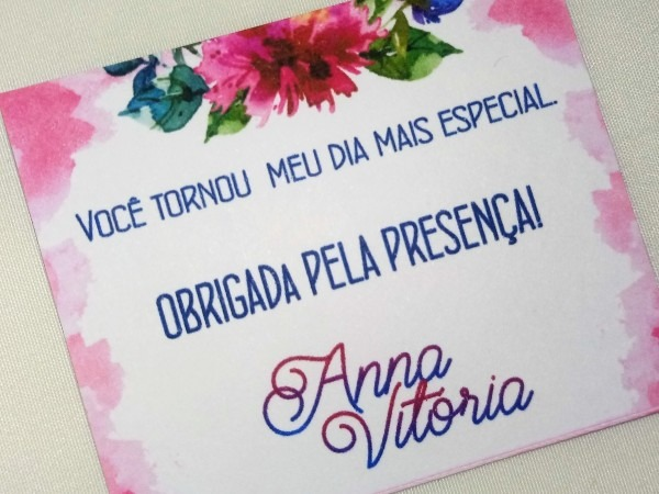 Convite individual barato pac com 100 tag casamento festas