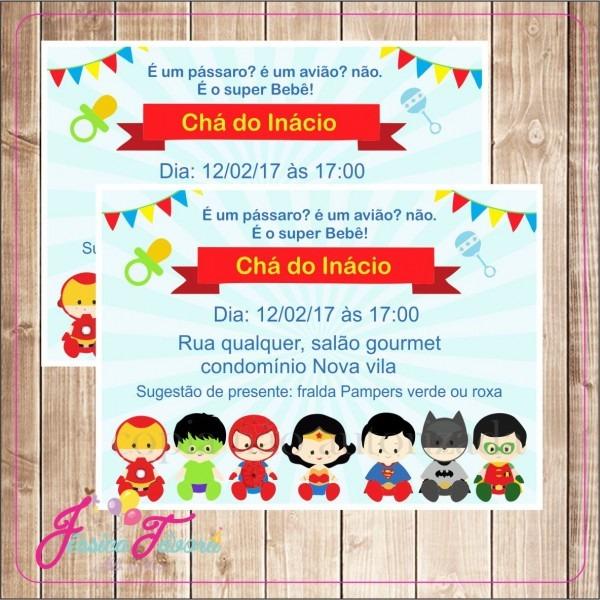 Convite virtual no elo7