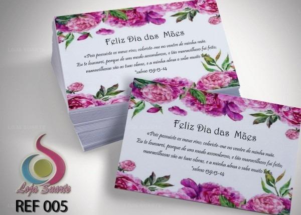 Convites dia das mães ( 12 unidades)