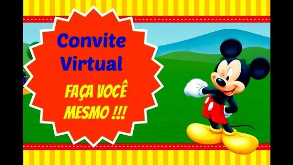 Elegante de como fazer convite virtual aniversario anivers rio